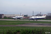 RAF Cranwell - Threshold queue at RAF Cranwell EGYD - by Clive Pattle