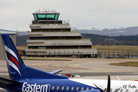 Aberdeen Airport, Aberdeen, Scotland United Kingdom (EGPD) - The 'Wedding Cake' Control Tower at Aberdeen EGPD - by Clive Pattle