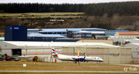 Aberdeen Airport, Aberdeen, Scotland United Kingdom (EGPD) - Eastern Airways maintenance hangar at Aberdeen EGPD - by Clive Pattle