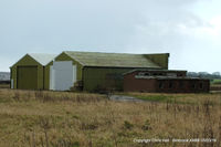 X4BB Airport - QRA shed at the former RAF Binbrook - by Chris Hall