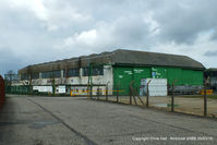 X4BB Airport - one of the surviving hangars at the former RAF Binbrook - by Chris Hall