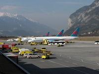 Innsbruck Airport - Innsbruck 24.2.07 - by leo larsen