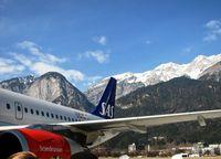 Innsbruck Airport, Innsbruck Austria (LOWI) - Innsbruck 23.2.08 - by leo larsen