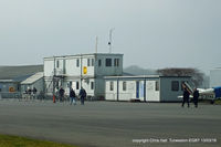 Turweston Aerodrome Airport, Turweston, England United Kingdom (EGBT) - Turwestons current tower, cafe and club room - by Chris Hall