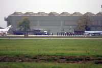 RAF Leeming - During the disbandment ceremony for 11 Squadron RAF at Leeming on October 31st 2005 - taken through a loooooong lens! - by Malcolm Clarke