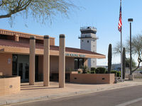 Chandler Municipal Airport (CHD) - the terminal - by olivier Cortot