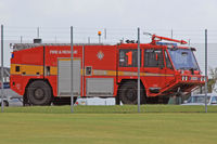 AAC Middle Wallop Airfield - Fire 1 at EGVP. - by Derek Flewin