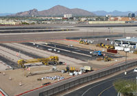 Phoenix Sky Harbor International Airport (PHX) - expanding the tarmac ? - by olivier Cortot