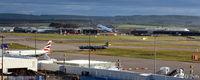 Aberdeen Airport, Aberdeen, Scotland United Kingdom (EGPD) - Aberdeen EGPD main terminal apron - by Clive Pattle