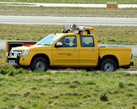 Aberdeen Airport, Aberdeen, Scotland United Kingdom (EGPD) - Airfield Ops vehicle at Aberdeen EGPD - by Clive Pattle