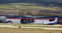 Aberdeen Airport, Aberdeen, Scotland United Kingdom (EGPD) -  at Aberdeen EGPD - by Clive Pattle