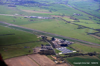 X3MY Airport - former RAF Melton Mowbray, built in 1941. originally intended for aircraft maintenance but was taken over by RAF Transport Command. Also used as a Thor Strategic missile site between 1959 and 1963 - by Chris Hall