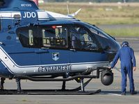 Bordeaux Airport, Merignac Airport France (LFBD) - tarmac Gendarmerie, ready to departure ! - by Jean Goubet-FRENCHSKY