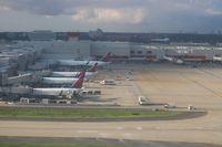 Hartsfield - Jackson Atlanta International Airport (ATL) - Atlanta on departure - by Florida Metal