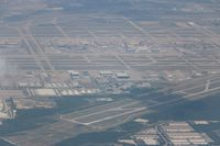 Dallas/fort Worth International Airport (DFW) - Dallas Fort Worth on downwind - by Florida Metal