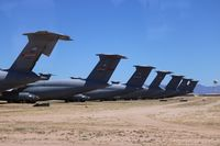 Davis Monthan Afb Airport (DMA) - C-5 tails - by Florida Metal