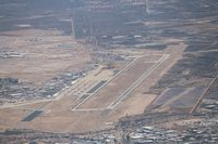 Davis Monthan Afb Airport (DMA) - departing Tucson over Davis Monthan - by Florida Metal