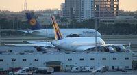 Miami International Airport (MIA) - Two A380s - by Florida Metal