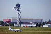 Leipzig/Halle Airport, Leipzig/Halle Germany (EDDP) - Little freighter on twy C .... - by Holger Zengler