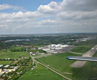 Coventry Airport - Coventry Airport after Takeoff from G-TORC - by Adam Loader