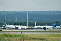 Vancouver International Airport - Meeting of B737s - by metricbolt