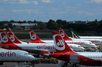 Tegel International Airport (closing in 2011), Berlin Germany (EDDT) - Eastbound view from visitor´s terrace..... - by Holger Zengler