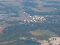 Salem Municipal Airport (I83) - Looking west - by Bob Simmermon