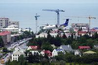 Reykjavík Airport - Inbound traffic for rwy 19..... - by Holger Zengler