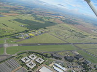 RAF Wyton - Spotted on way to Mitchells Farm near Cambridge - now a disused airfield.  - by magnaman