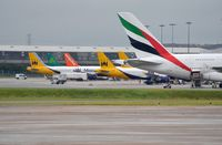 Birmingham International Airport - Terminal view from the west. - by FerryPNL