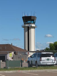 Burlington International Airport (BTV) - the tower - by olivier Cortot