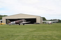 Geneseo Airport (D52) - main hangar - by olivier Cortot