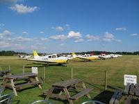 Denham Aerodrome - KCIN plus others at Denham - by cafe - by magnaman