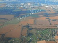 Bolton Field Airport (TZR) - Looking north from 4500 ft. - by Bob Simmermon