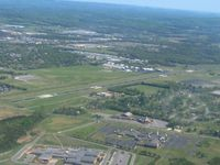 Lebanon Municipal Airport (M54) - Looking SE at pattern altitude - by Bob Simmermon