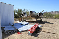 Quail Mesa Ranch Airport (15AZ) - Beech 18, needing some work. - by olivier Cortot