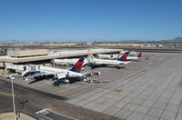 Phoenix Sky Harbor International Airport (PHX) - Delta terminal - by olivier Cortot