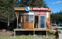 Homer-beluga Lake Seaplane Base (5BL) - Office of Steller Air at Beluga Lake Seaplane Base Homer AK - by Jack Poelstra