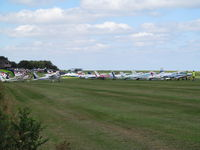 Compton Abbas Airfield - summer fly in - by magnaman