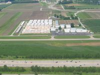Creve Coeur Airport (1H0) - View of the hangers and facility - by Bob Simmermon