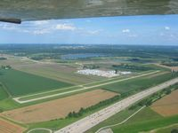 Creve Coeur Airport (1H0) - Looking east - by Bob Simmermon
