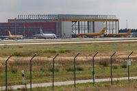 Leipzig/Halle Airport - View on DHL Air Hub... - by Holger Zengler