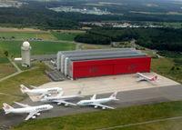 Luxembourg International Airport - Cargolux Maintenance Center @ LUX Findel Airport - by Jean M Braun
