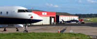 Aberdeen Airport - Aberdeen EGPD East side apron - by Clive Pattle