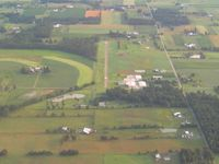 Stoltzfus Airfield Airport (OH22) - Looking north - by Bob Simmermon