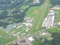 Butler Farm Show Airport (3G9) - Looking south - by Bob Simmermon