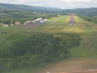 Northumberland County Airport (N79) - Final approach for 26 - by Bob Simmermon