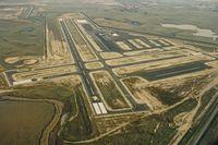 Rio Vista Municipal Airport (O88) - Rio Vista airport under construction. - by Clayton Eddy