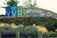 Vancouver International Airport, Vancouver, British Columbia Canada (YVR) - Entrance to the park - by metricbolt