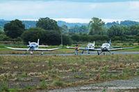 Shobdon Aerodrome Airport, Leominster, England United Kingdom (EGBS) - Royal Aero Club RRRA air race at Shobdon - by Chris Hall